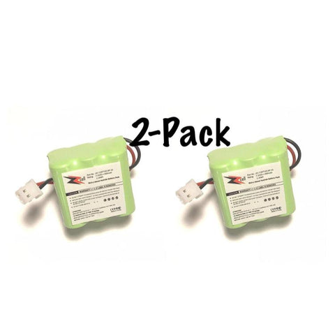 2-Pack ZZcell Battery for Dogtra Transmitter DC-7, 1100NC, 1200NC, 1202NC, 1202NCP, 1400NCP, 1500NCP, 1600NCP, 1700NCP, D500B, D500T, RRD, RRS, 300mAh Dog Collar