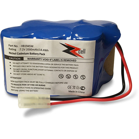 ZZcell Battery For Shark Euro Pro Vacuum Cordless Sweeper Model XB1945W, XB1946W, XB1946, V1945Z, V1945