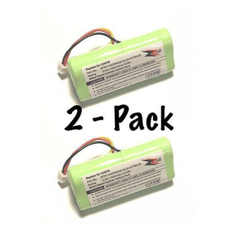 2-Pack ZZcell (TM) Bar Code Scanner Battery For Motorola Symbol LS4278 / BTRY-LS42RAAOE-01