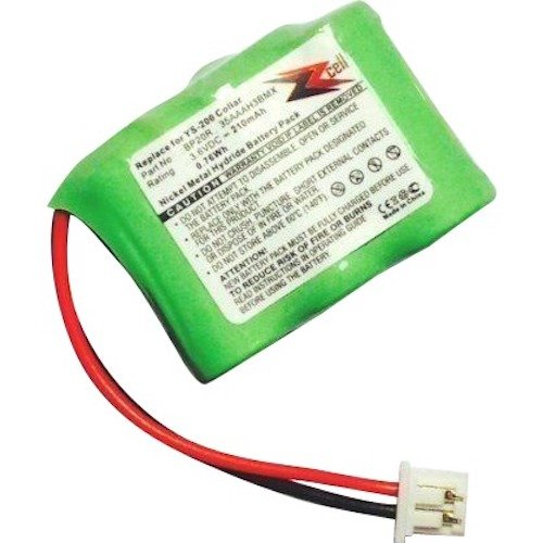 ZZcell Battery for Dogtra Receiver 175NCP, 200NCP, 202NCP, 280NCP, 282NCP, 300M, 302M, 7000M, 7002M, EF-3000 Old, YS-200 Remote Controlled Dog Training Collar