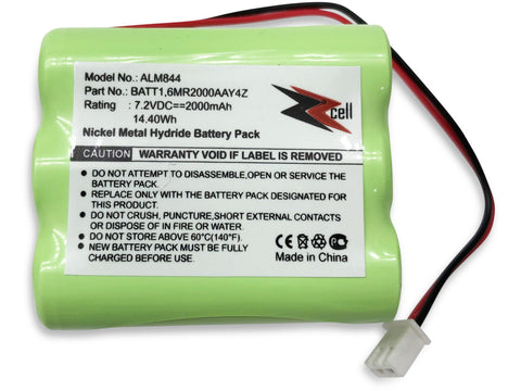 ZZcell Replacement Battery For 2Gig BATT1, BATT1X, BATT2X, 6MR2000AAY4Z, GC2 2GIG-CNTRL2 2GIG-CP2, GCKIT311, 228844, Go Control Panel Alarm System 10-000013-001, PERS-4200