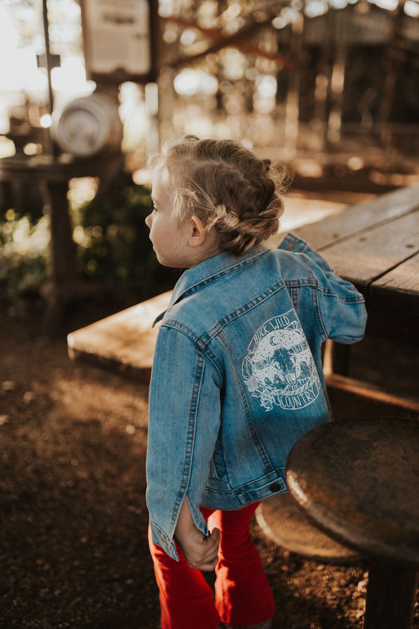 LITTLE BUCK MIDNIGHT EMBERS DENIM JACKET