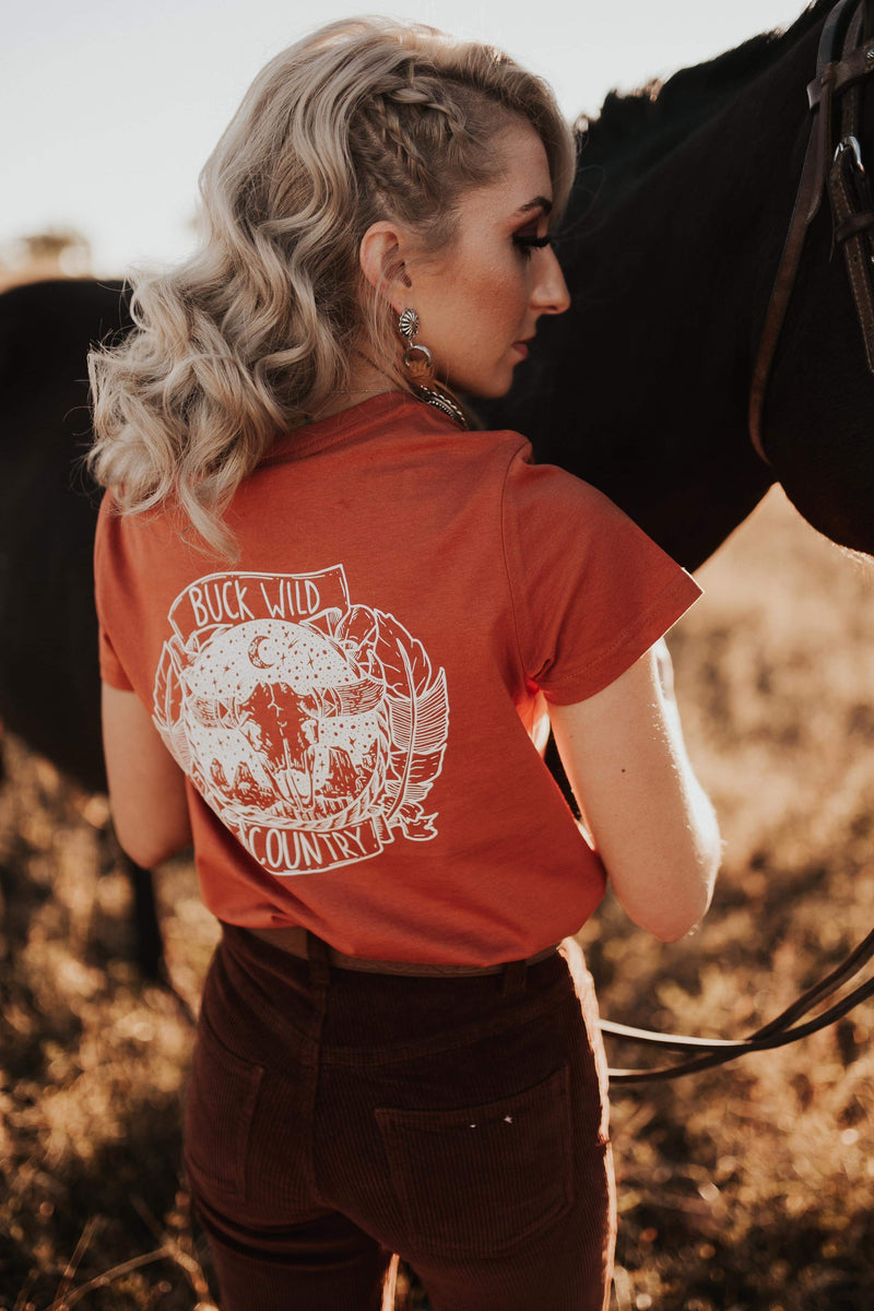 AMERICAN HONEY COPPER T-SHIRT