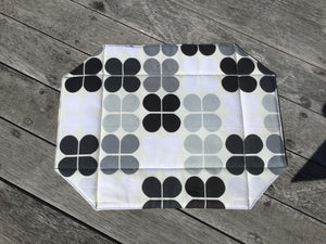 Black and White Placemats