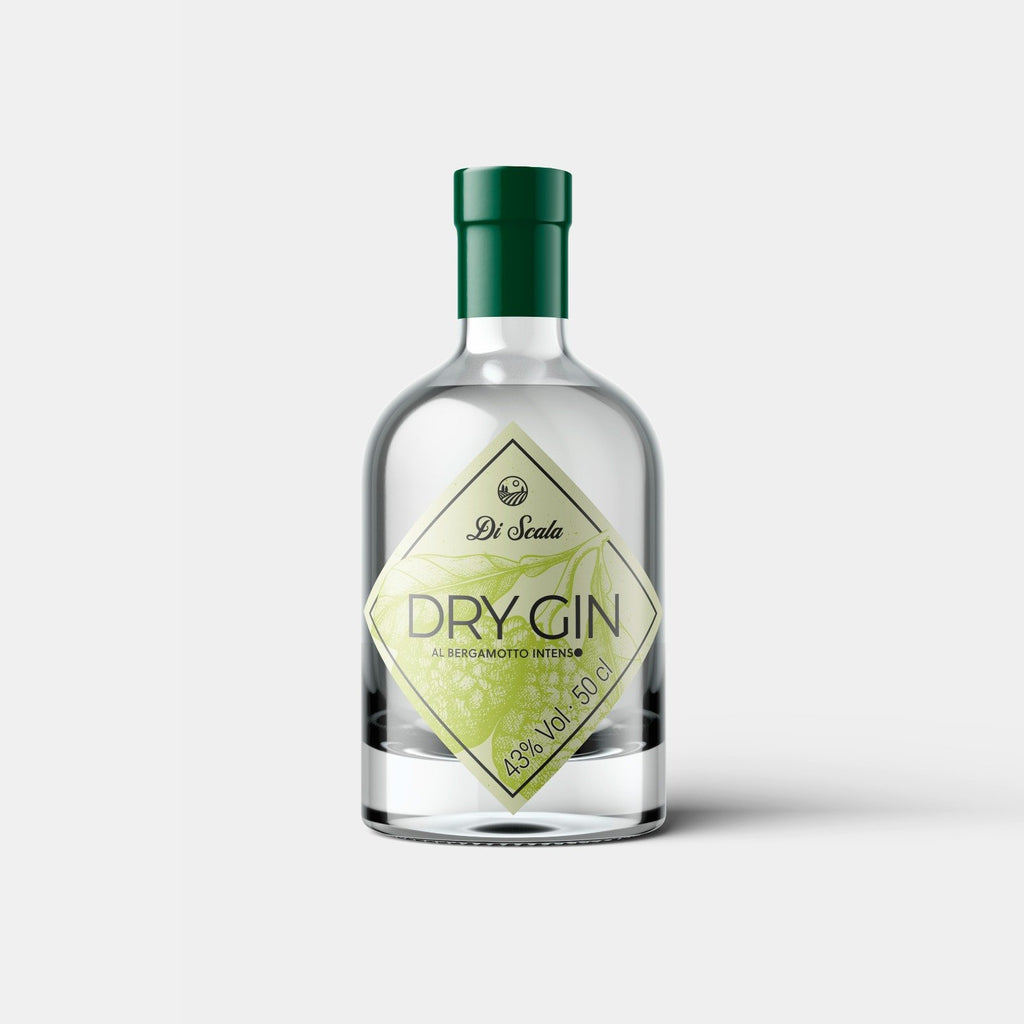 Di Scala Dry Gin al Bergamotto INTENSO 50cl