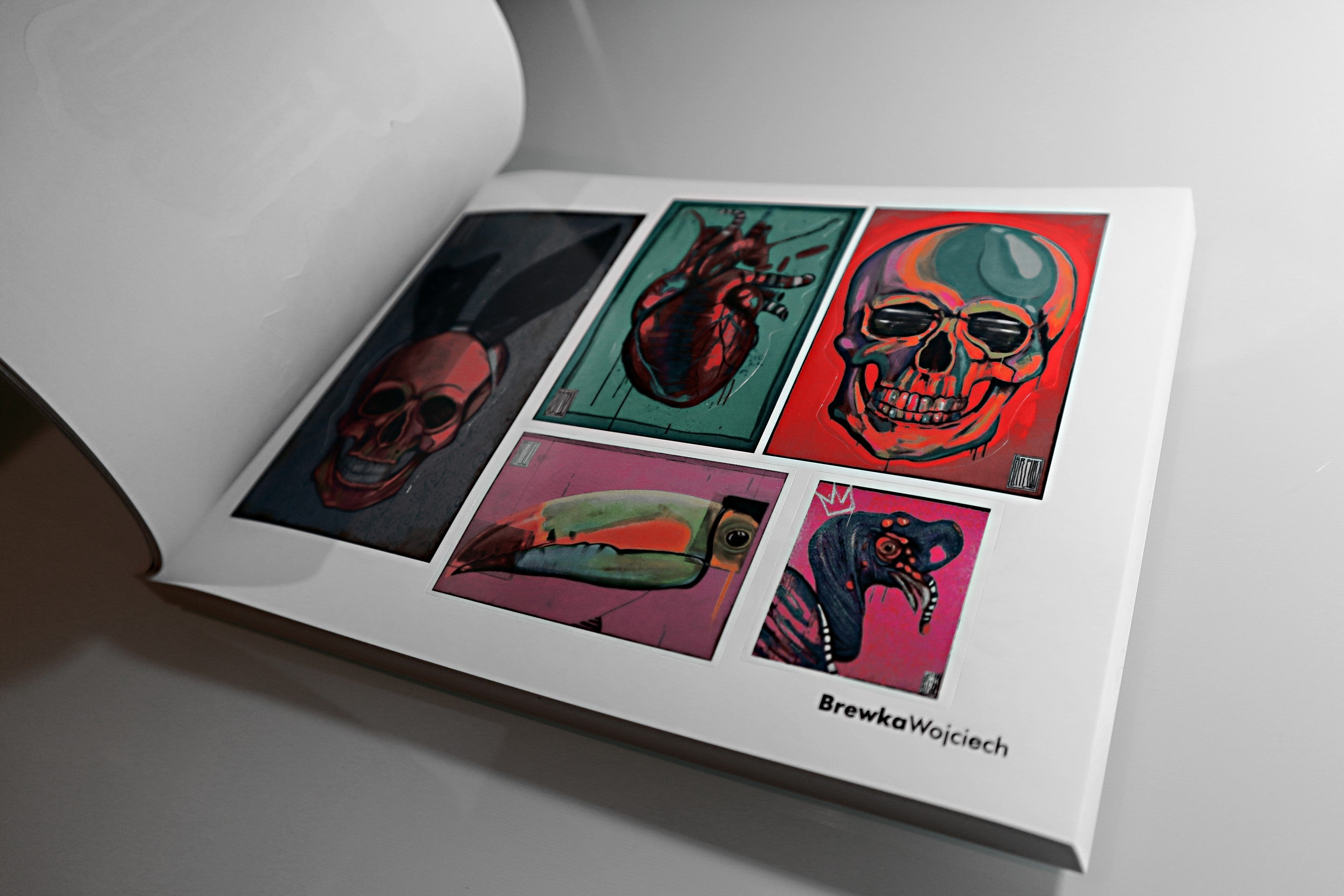 Art Stickers Album - Perfect Gift For Artists - STICKY ICKY II