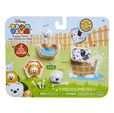 Disney Tsum Tsum Puppy Party 7-pack - H-Town Toy Company