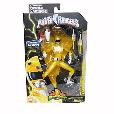 Mighty Morphin Power Rangers Legacy Collection Limited Edition Yellow Ranger - H-Town Toy Company