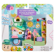 Tsum Tsum Disney Mad Hatter's Hat Shop Set Miniature Toy Figures - H-Town Toy Company