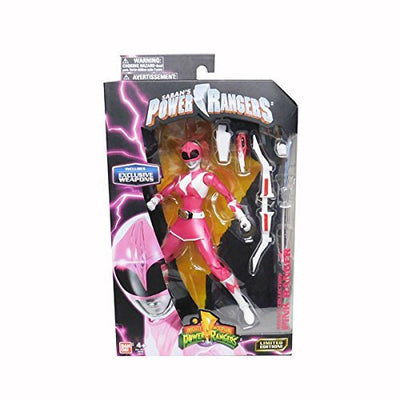 Mighty Morphin Power Rangers Legacy Collection Limited Edition 6.5 Inch Pink Ranger - H-Town Toy Company