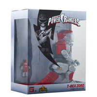 Power Rangers Mighty Morphin Tyrannosaurus Large Zord Action Figure, Tyrannosaurus Zord - H-Town Toy Company