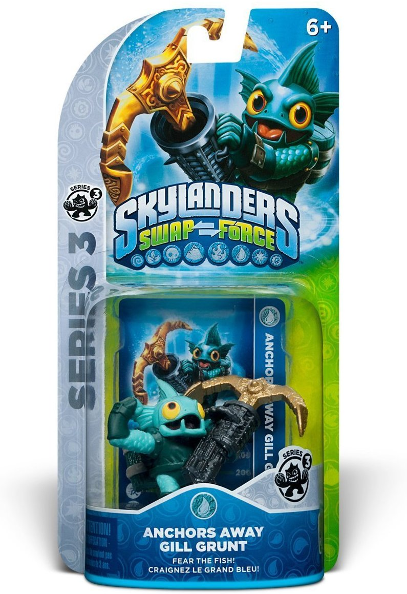 Skylanders Swap Force Anchors Away Gill Grunt - H-Town Toy Company