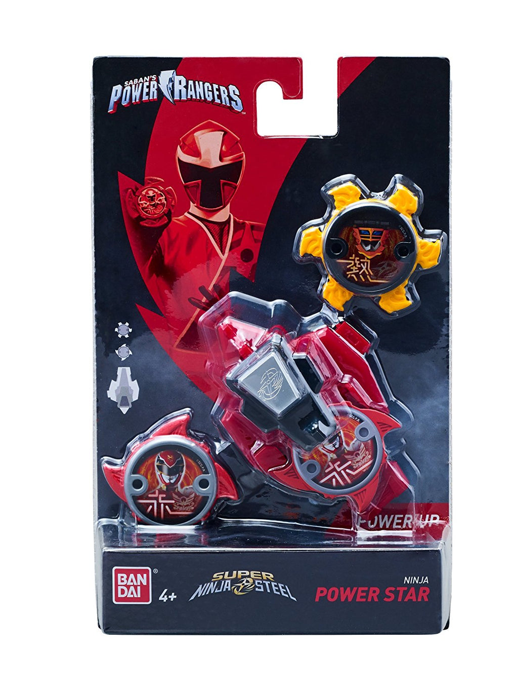 Power Rangers Super Steel Ninja Power Star Pack, Kodiak Zord - H-Town Toy Company