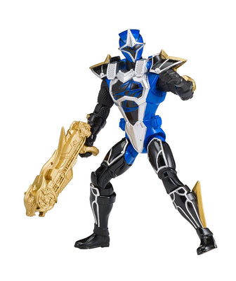 Power Rangers Super Ninja Steel Blue Ranger Cockpit Mode Version 2 Action Figure, Master Mode Blue Ranger - H-Town Toy Company