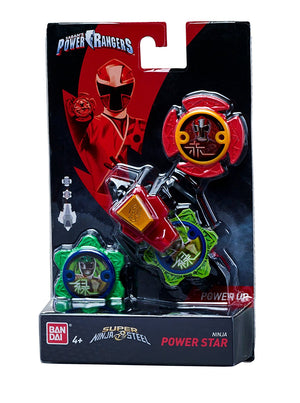 Power Rangers Super Steel Ninja Power Star Pack, Red Ranger - H-Town Toy Company