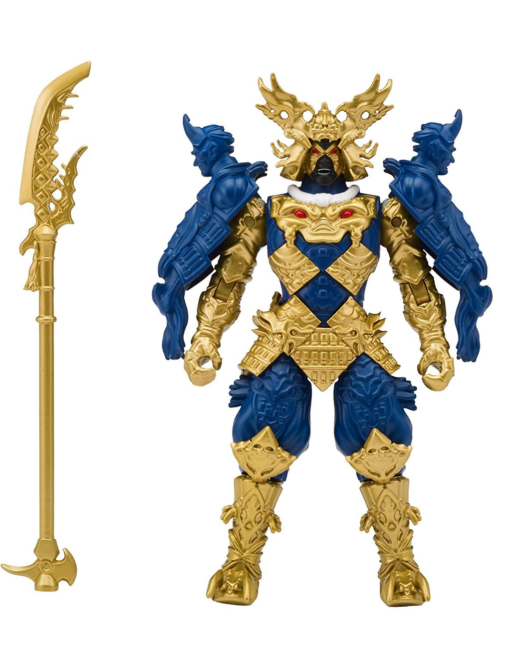 Power Rangers Super Ninja Steel Gengetsu Action Figure, Villain Galvanex - H-Town Toy Company