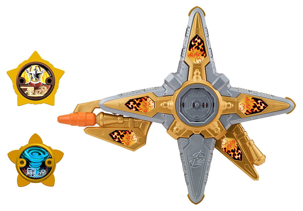 Power Rangers Super Ninja Steel DX Gold Ninja Battle Morpher, Gold Ninja Morpher - H-Town Toy Company