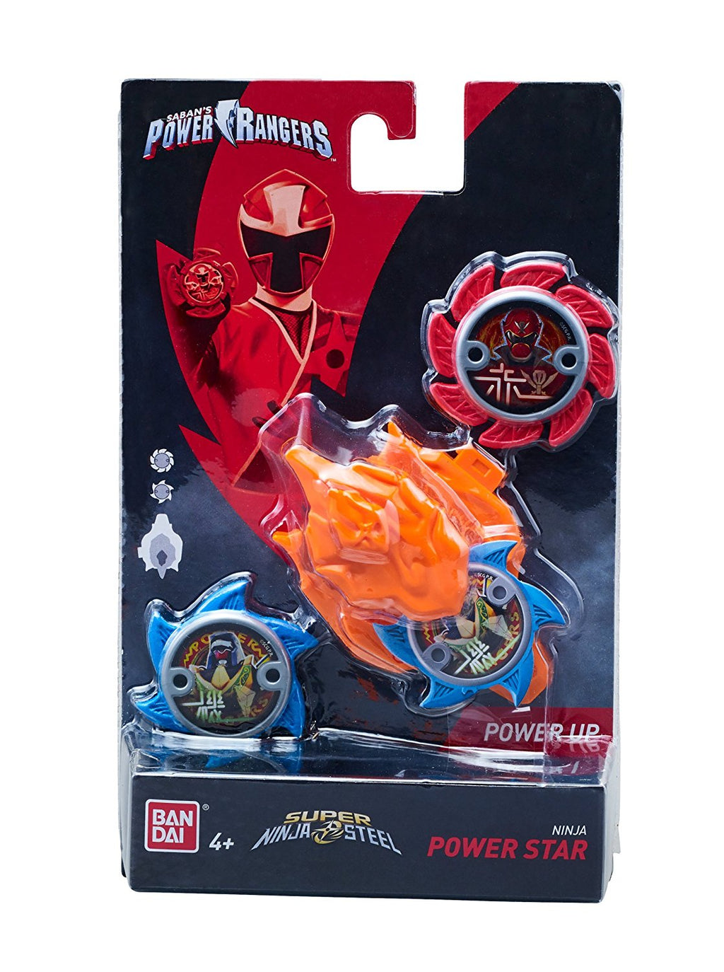 Power Rangers Super Steel Ninja Power Star Pack, Robo Red Zord - H-Town Toy Company