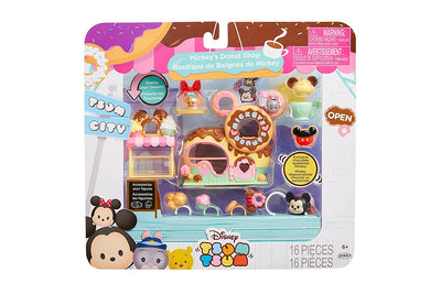 Tusm Tsum Disney Mickey's Donuts Shop Set Miniature Toy Figures - H-Town Toy Company