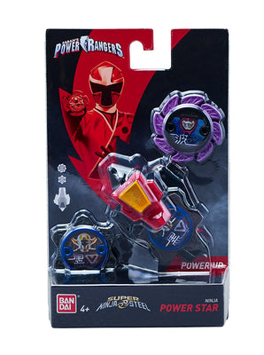 Power Rangers Super Steel Ninja Power Star Pack, Pink Ranger - H-Town Toy Company
