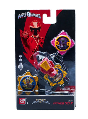 Power Rangers Super Steel Ninja Power Element Star Pack, Water Mode - H-Town Toy Company
