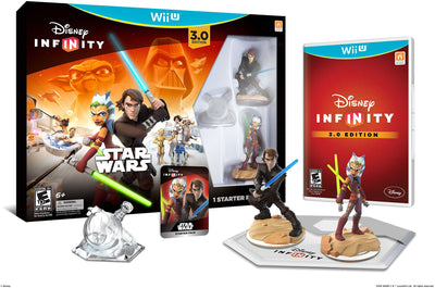Disney Infinity 3.0 Edition Star Wars Starter Pack- Wii U - H-Town Toy Company
