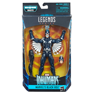 Build-A-figure Legends Series Black Bolt - H-Town Toy Company