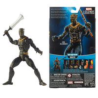 Build-A-Figure Legends Series Black Panther Erik Killmonger - H-Town Toy Company