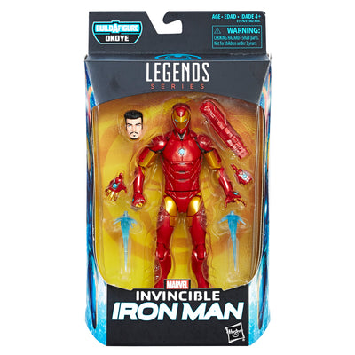 Build-A-Figure Legends Series Invincible IronMan - H-Town Toy Company