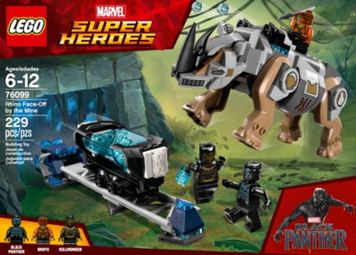 Marvel Super Heroes Black Panther LEGO Set - H-Town Toy Company
