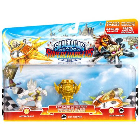 Skylanders SuperChargers Sky Racing Action Pack - H-Town Toy Company