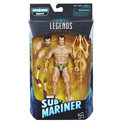Build-A-Figure Legends Series Sub-Mariner - H-Town Toy Company
