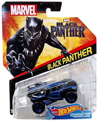 Marvel Black Panther  Hot Wheels Character Cars - H-Town Toy Company