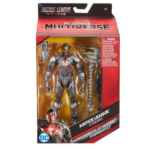 DC Comics Justice League Multiverse Cyborg - H-Town Toy Company