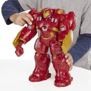"Iron Man Marvel Avengers Tech 12"" Electronic Hulk Buster Action Figure - H-Town Toy Company"