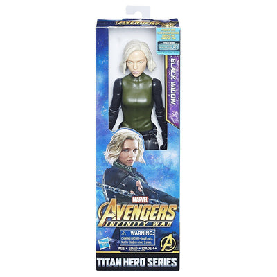 Black Widow Marvel Avengers Infinity War Titan Hero Series 12-inch Action Figure - H-Town Toy Company