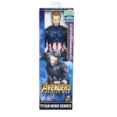 Captain America Marvel Infinity War Titan Hero Series 12-inch Action Figure - H-Town Toy Company