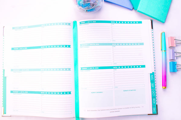 The Reimagined Mom Planner - Weekly Planner for Moms