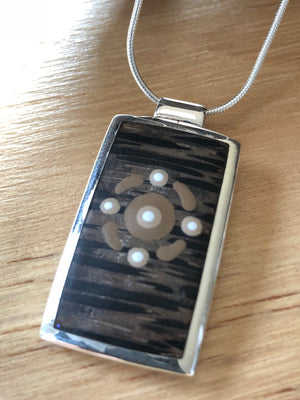 'Connections' Sterling Silver Slider Pendant