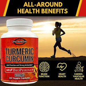 Your Daily Supplements, Inflammation, and why Turmeric Curcumin with BioPerine?
