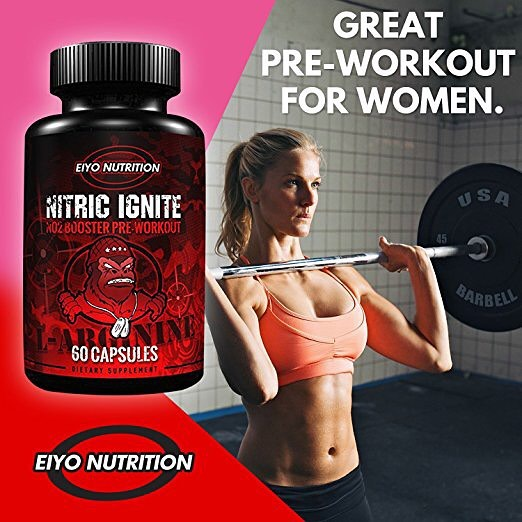 Why Nitric Ignite from Eiyo Nutrition is a Great Pre-workout!