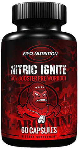 Nitric Ignite - Pre-Workout Nitric Oxide Supplements - Eiyo