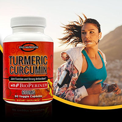 Turmeric Curcumin with BioPerine - Anti-inflammatory, Heart Health - Eiyo Nutrition