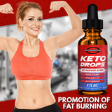 Keto Drops 2 oz. Max Potency Raspberry Ketones -  Eiyo Nutrition