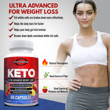 Keto Ultra - Advanced Weight Loss Dietary Nutritional Supplement -  Eiyo Nutrition