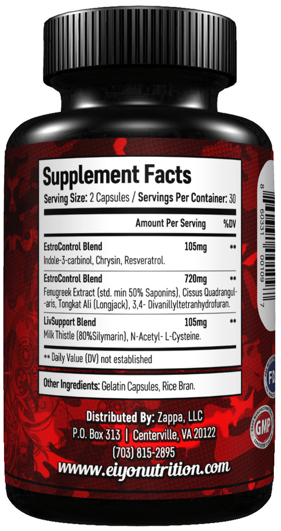 Post Cycle Therapy (All Natural ) - PCT Supplement - Eiyo Nutrition