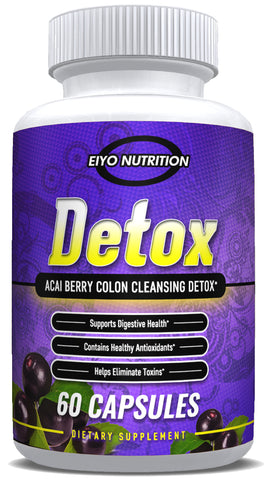 DETOX - Acai Berry Colon Cleansing Detox - Eiyo Nutrition -  Eiyo Nutrition