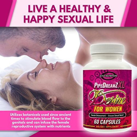 Female Libido Enhancement Supplement - Aphrodisiac for Women -  Eiyo Nutrition