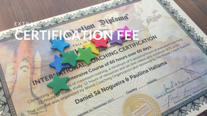 Certification Fee, International Coaching Certification (extra if you didn't complete certification within 6 months)