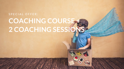 Coaching course + 2 coaching sessions